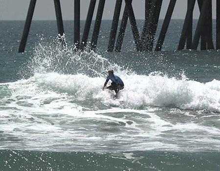 別名Surf City USAを持つサーファーの聖地