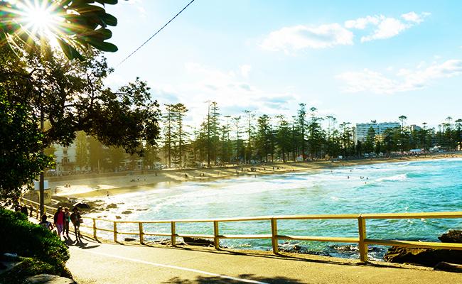 個人的にお勧めオーストラリア留学エリア マンリービーチ