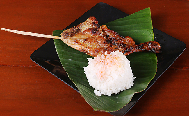 チキン料理が絶品!食事が美味しいから長期留学でも飽きない
